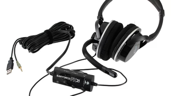 Turtle Beach long wired headset